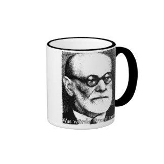 ¿Qué Freud haría? Taza De Dos Colores
