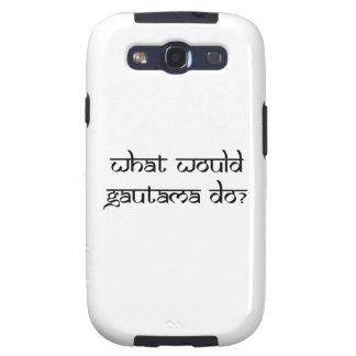 ¿Qué Gautama haría? Samsung Galaxy S3 Cárcasa