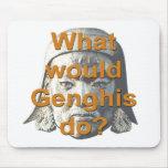 ¿Qué Genghis haría? Tapete De Raton