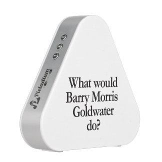 qué goldwater de los morris de barry haría altavoz