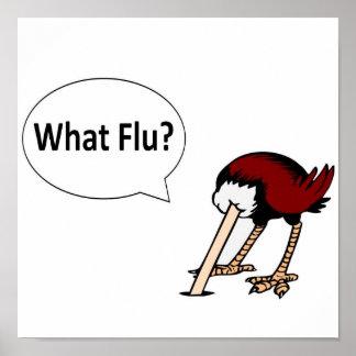 ¿Qué gripe? Póster