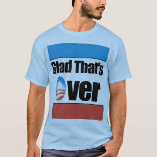 Que ha terminado - Obama anti alegre Playera