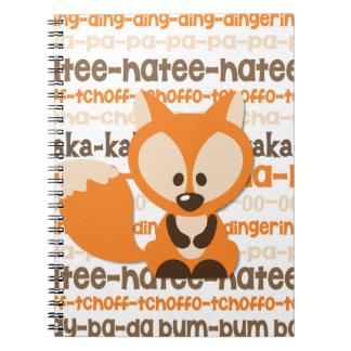 Qué hace el Fox para decir el cuaderno