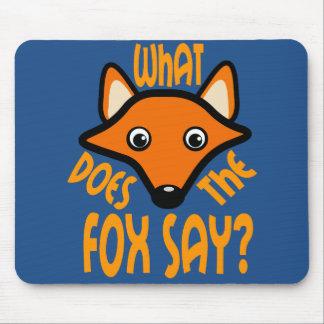 Qué hace el Fox para decir Tapete De Raton