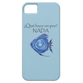 Qué hace un pez Spanish Phone Case