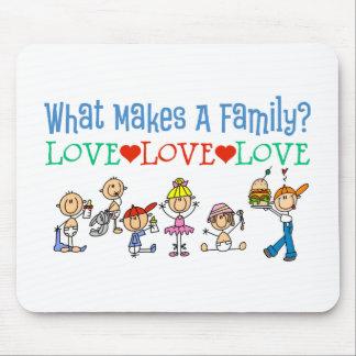 Qué hace un regalo del gay de la familia alfombrilla de ratón