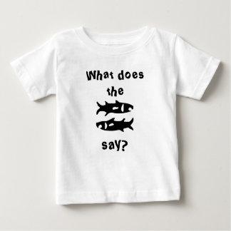 ¿Qué hacen los pescados dicen? Poleras