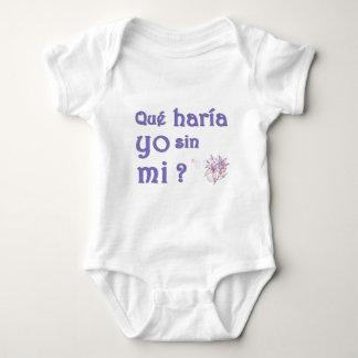 que haria.jpg baby bodysuit