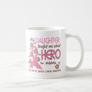 Qué héroe significa a la hija del cáncer de pecho taza de café