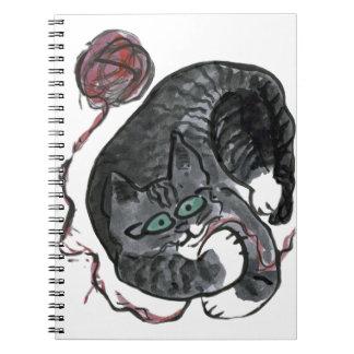 ¿Qué hilado? pide, Bob el gatito Libreta Espiral
