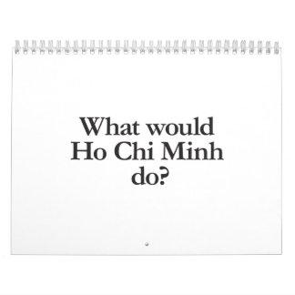 qué Ho Chi Minh haría Calendarios De Pared