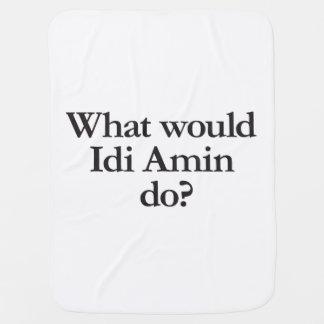 qué Idi Amin haría Mantitas Para Bebé