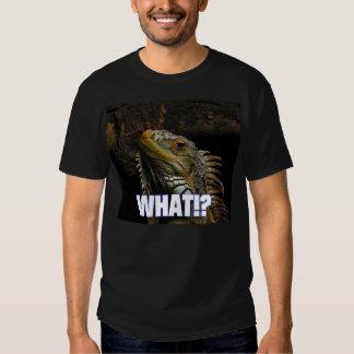 ¿Qué!? Iguana Camisas