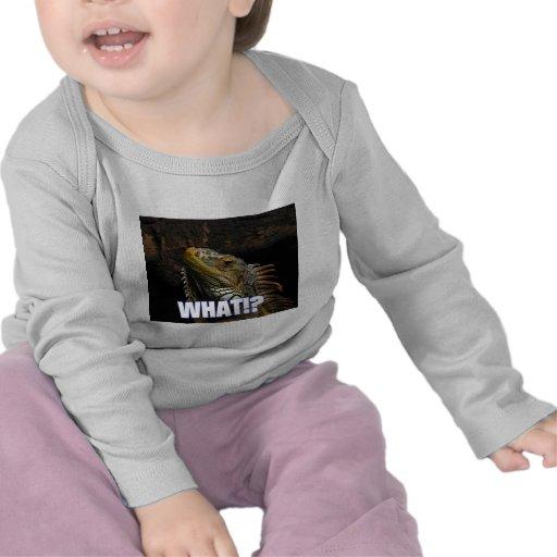 ¿Qué!? Iguana Camiseta