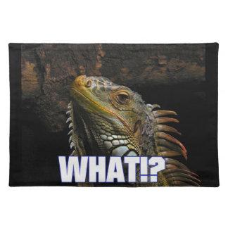 ¿Qué!? Iguana Mantel Individual