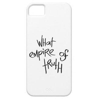 Qué imperio de la verdad funda para iPhone 5 barely there