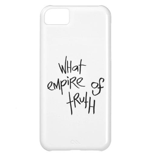 Qué imperio de la verdad funda para iPhone 5C