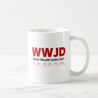 ¿Qué Jackie haría? Taza Clásica