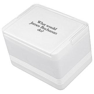 qué James Buchanan haría Refrigerador Igloo
