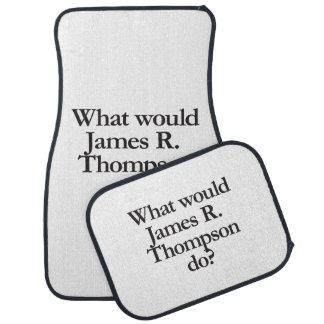 qué james r thompson haría alfombrilla de auto