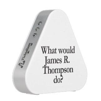 qué james r thompson haría altavoz bluetooth