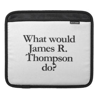 qué james r thompson haría manga de iPad