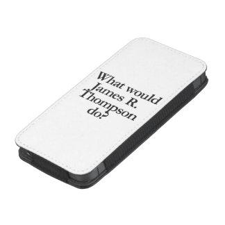 qué james r thompson haría funda para iPhone 5