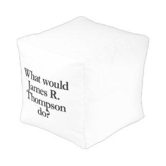 qué james r thompson haría pouf cuadrado