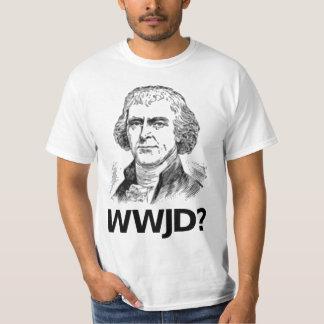 ¿Qué Jefferson haría? - Camiseta blanca