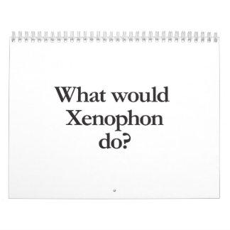 qué Jenofonte haría Calendario