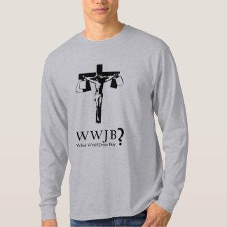 ¿Qué Jesús compraría? Remera