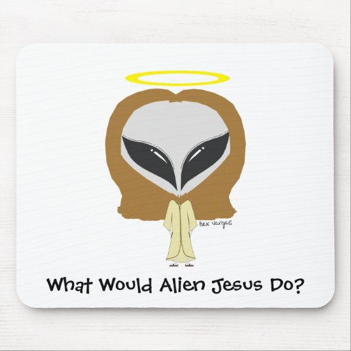 ¿Qué Jesús extranjero haría? Mousepad