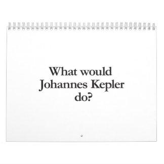 qué Johannes Kepler haría Calendarios