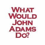 ¿Qué John Adams haría? Polo Bordado