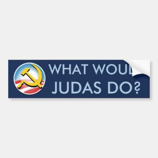 ¿Qué Judas haría? Pegatina Para Auto