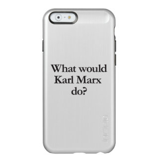 qué Karl Marx haría Funda Para iPhone 6 Plus Incipio Feather Shine