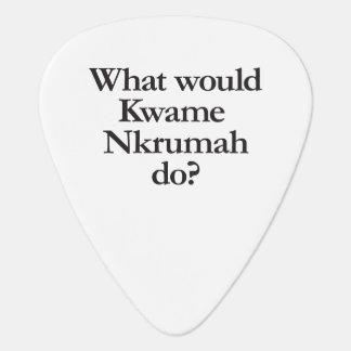 qué Kwame Nkrumah haría Púa De Guitarra