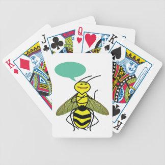 Qué la abeja de la miel dijo barajas de cartas