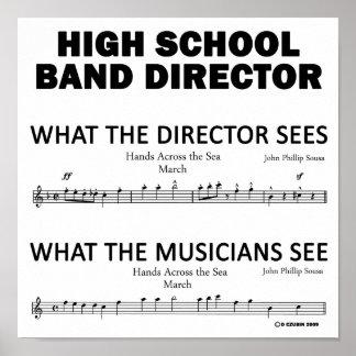Qué la banda escolar considera posters
