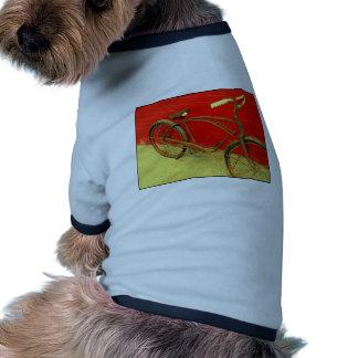 ¡Que la bici es una obra de arte bien amada! Ropa De Perros