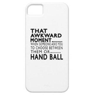 Que la bola de mano torpe del momento diseña iPhone 5 Case-Mate protector
