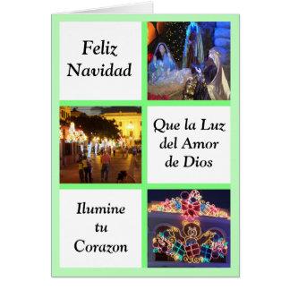 Que la luz del amor de Dios Ilumine tu corazon Greeting Card