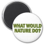¿Qué la naturaleza haría? Iman