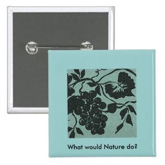 ¿Qué la naturaleza haría? Pin del collage