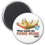 ¿Qué la patata acuñaría hace? Imanes Para Frigoríficos