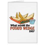 ¿Qué la patata acuñaría hace? Tarjetas