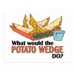 ¿Qué la patata acuñaría hace? Tarjetas Postales