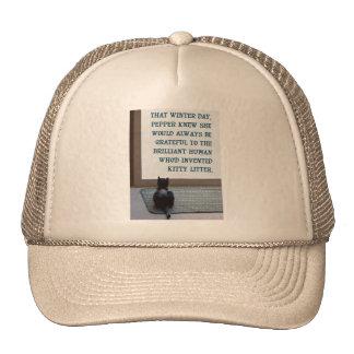 Que la pimienta del día de invierno sabía gorras