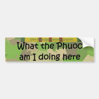 Qué la pintada del casco de Phuoc Pegatina Para Auto