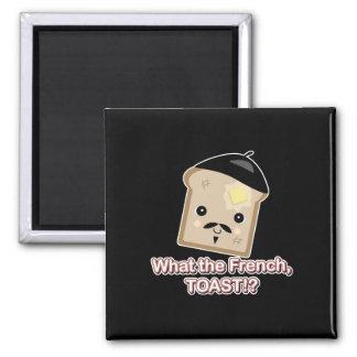qué la tostada francesa imán cuadrado